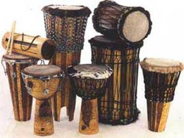Types of Drums - Djembe- African Drum